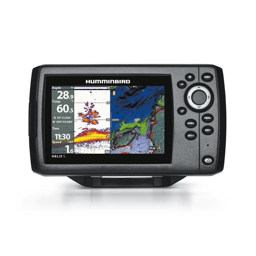 Humminbird Helix 5 CHIRP GPS G2 Echolot