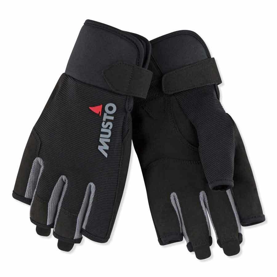 MUSTO Essential Sailing Short Finger Segel-Handschuhe