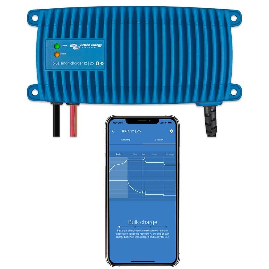 Victron Energy Blue Smart IP67 Ladegerät (wasserdicht) 12/25