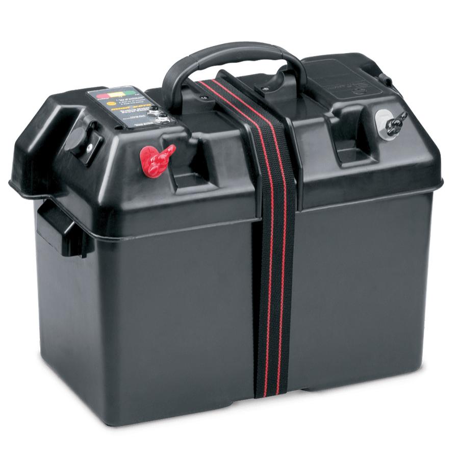 Minn Kota Battery Power Center Batteriekasten