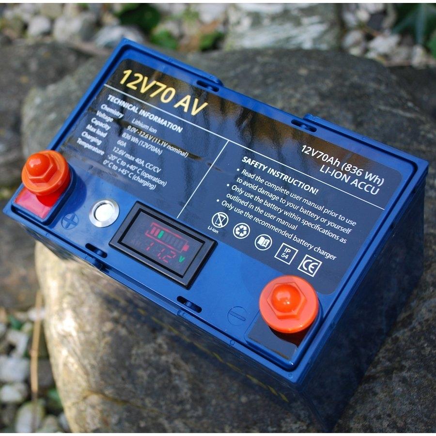 Rebelcell 12V70 AV Lithium-Ionen-Akku für alle Elektro-Außenborder und Bordnetzwerke