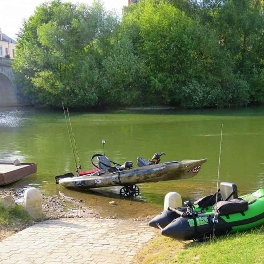 Railblaza C-Tug Kayak und Canoe Cart - Räder für Kanus und Kajaks