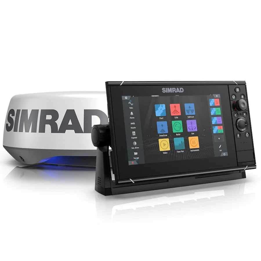 Simrad NSS9 evo3S Multifunktionsdisplay inkl. HALO20+ Radar