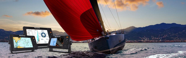Raymarine Element S für sichere Navigation auf Segelbooten und Yachten