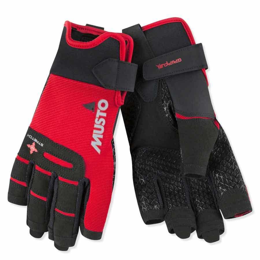 MUSTO Performance Short Finger Segel-Handschuhe