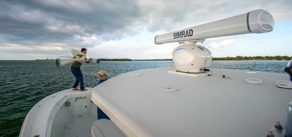 Simrad Bootsradar: Fuer jeden Boots- und Yachttyp gibt es perfekt passende Radarsysteme